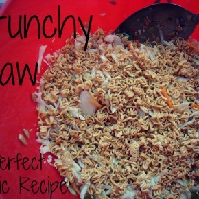 Crunchy Slaw - A Perfect Picnic Recipe