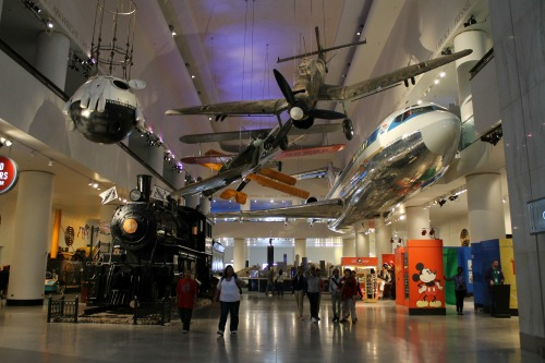 Museum of Science & Industry Planes