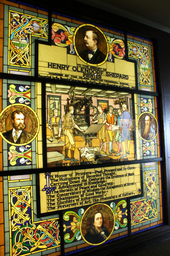 Smith Museum of Stained Glass Windows Printers