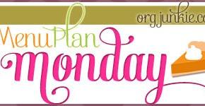 Menu Plan Monday ~ November 3