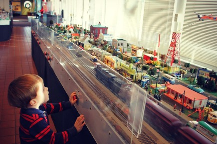 Holiday Toy Trains at the Behringer Crawford Museum