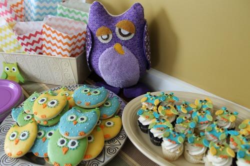 Owl Shower Dessert
