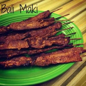 Bali Maki Appetizer