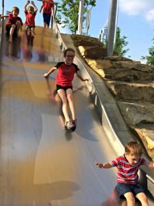 Smale Riverfront Park Slide