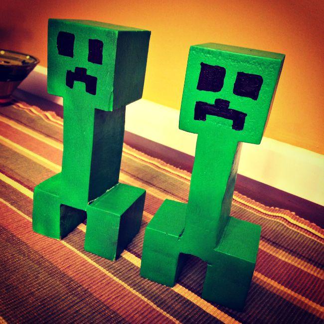 Minecraft Birthday Party Creeper