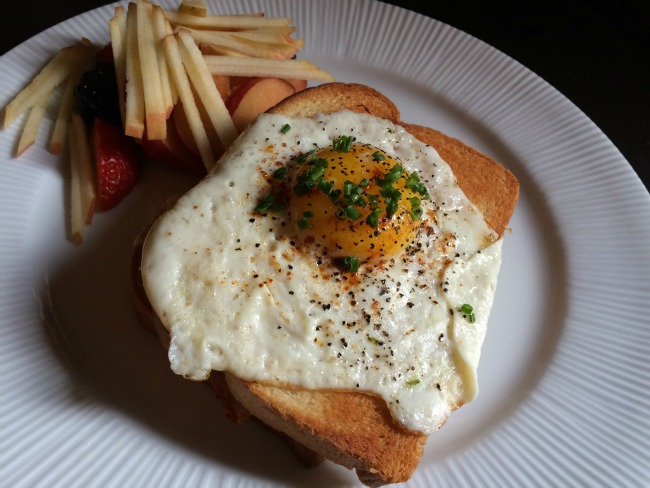French Crust Cafe Croque Monsieur