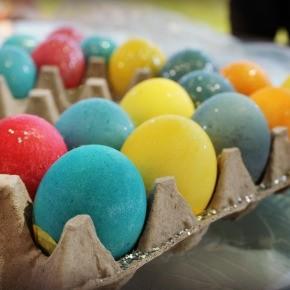 Carscarones:  Mexican Confetti Eggs
