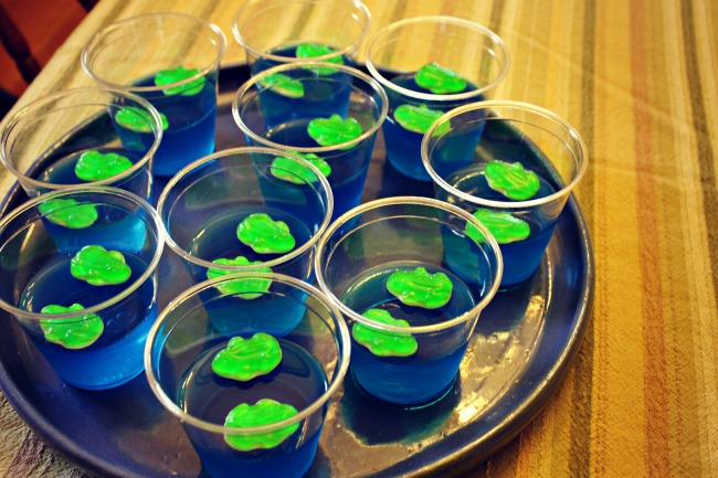 Frog Party Jello