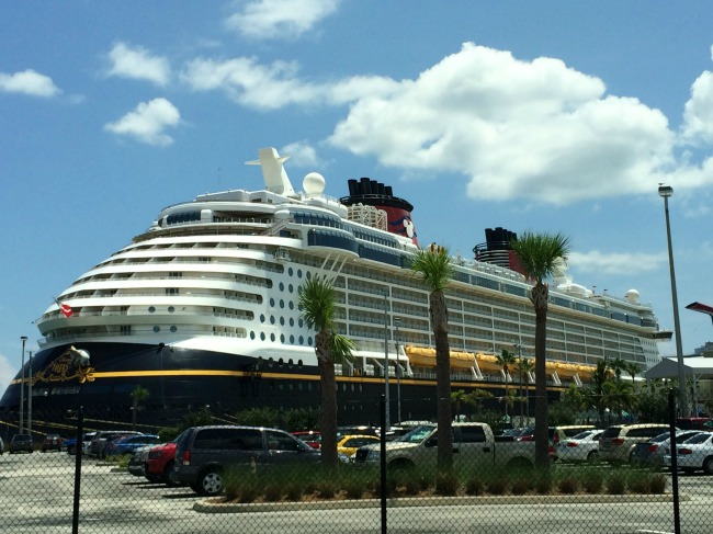Cape Canaveral Cruise Ship at Port Canaveral
