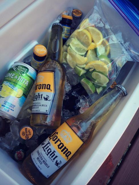 Fiesta Baby Shower Beer Cooler