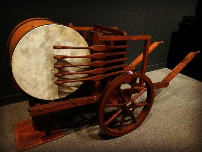 daVinci mechanical drum