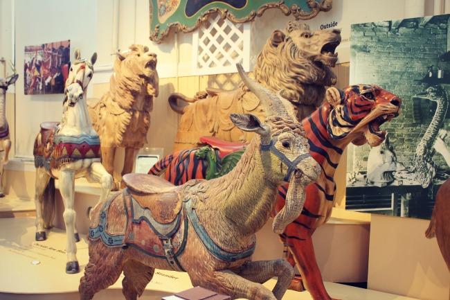 Merry Go Round Museum Animals