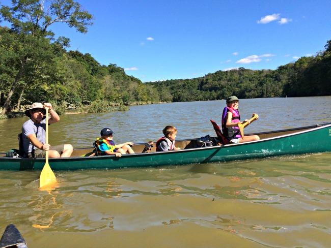 Doe Run Lake Canoe