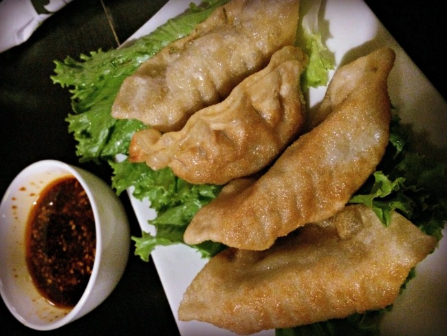 Small City Taphouse Pan Fried Pork Dumplings